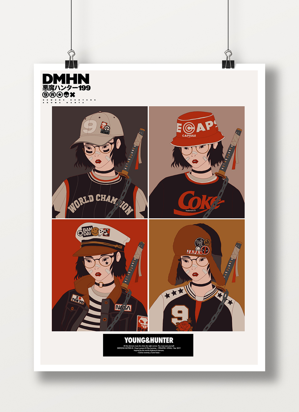EDC Demon Hunters Posters