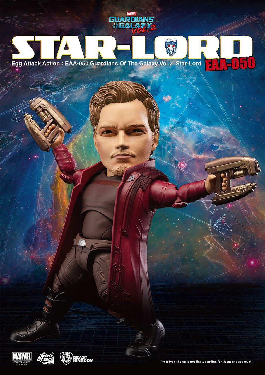 Star-Lord Egg Attack Figure
