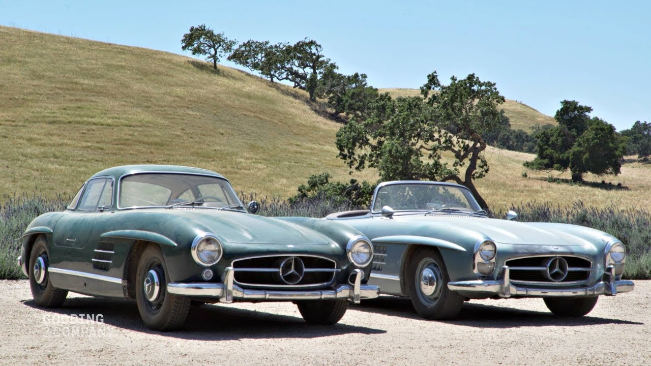 mercedes benz 300 sl duo the awesomer. Black Bedroom Furniture Sets. Home Design Ideas