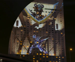 Final Fantasy XIV Projection Mapping