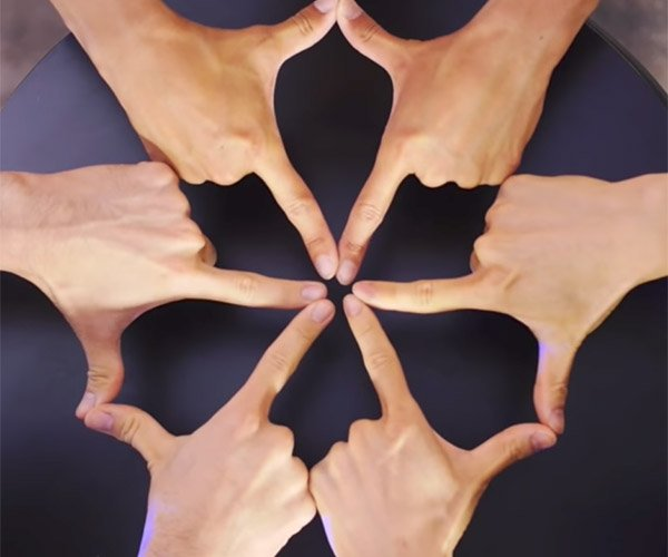 Finger Kaleidoscope