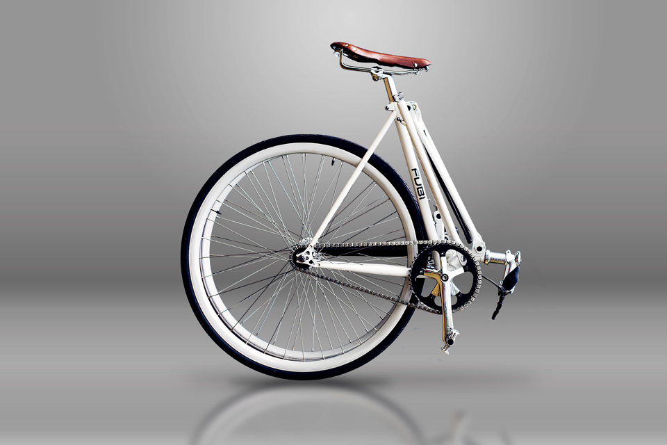 Fubi Fixie Folding Bicycle