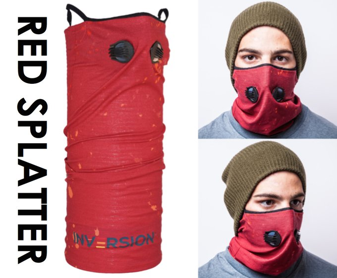 Inversion Gaiter 2 Air Filter Masks