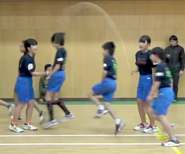 Jump Rope Skipping Record