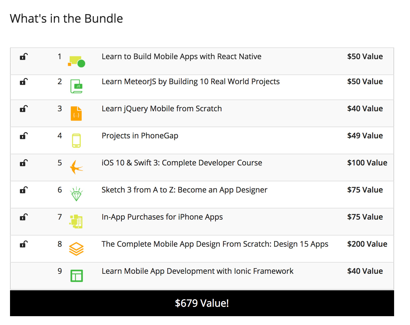 Deal: Learn to Build Mobile Apps