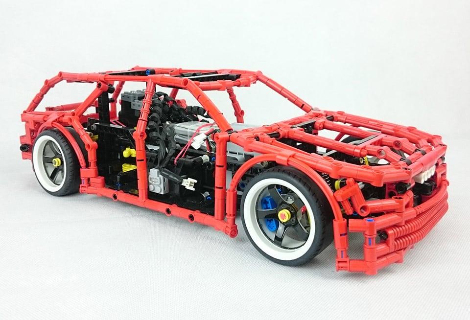 Lego Drift Wagon The Awesomer