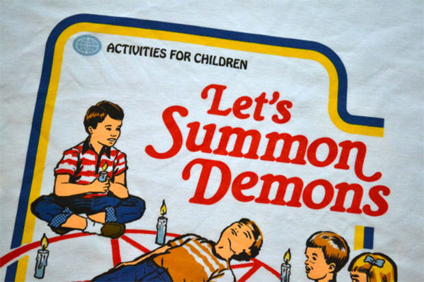 Let's Summon Demons Tee
