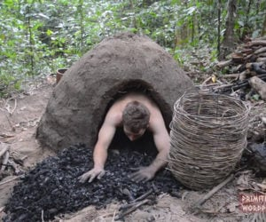 Making a Reusable Charcoal Mound