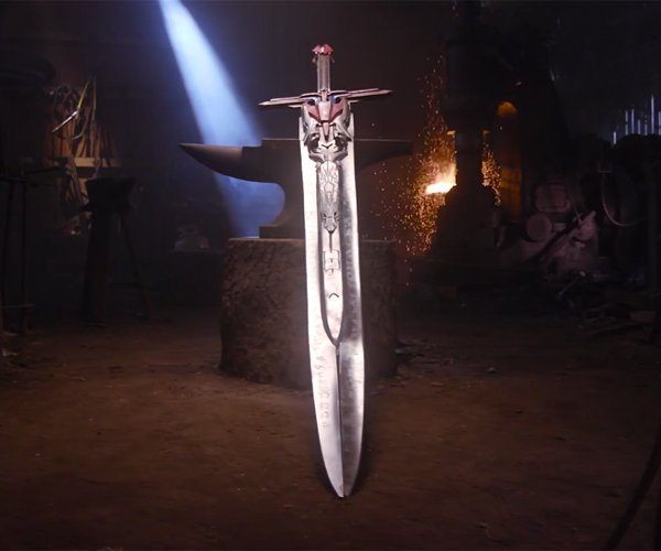 Making Optimus Prime's Sword