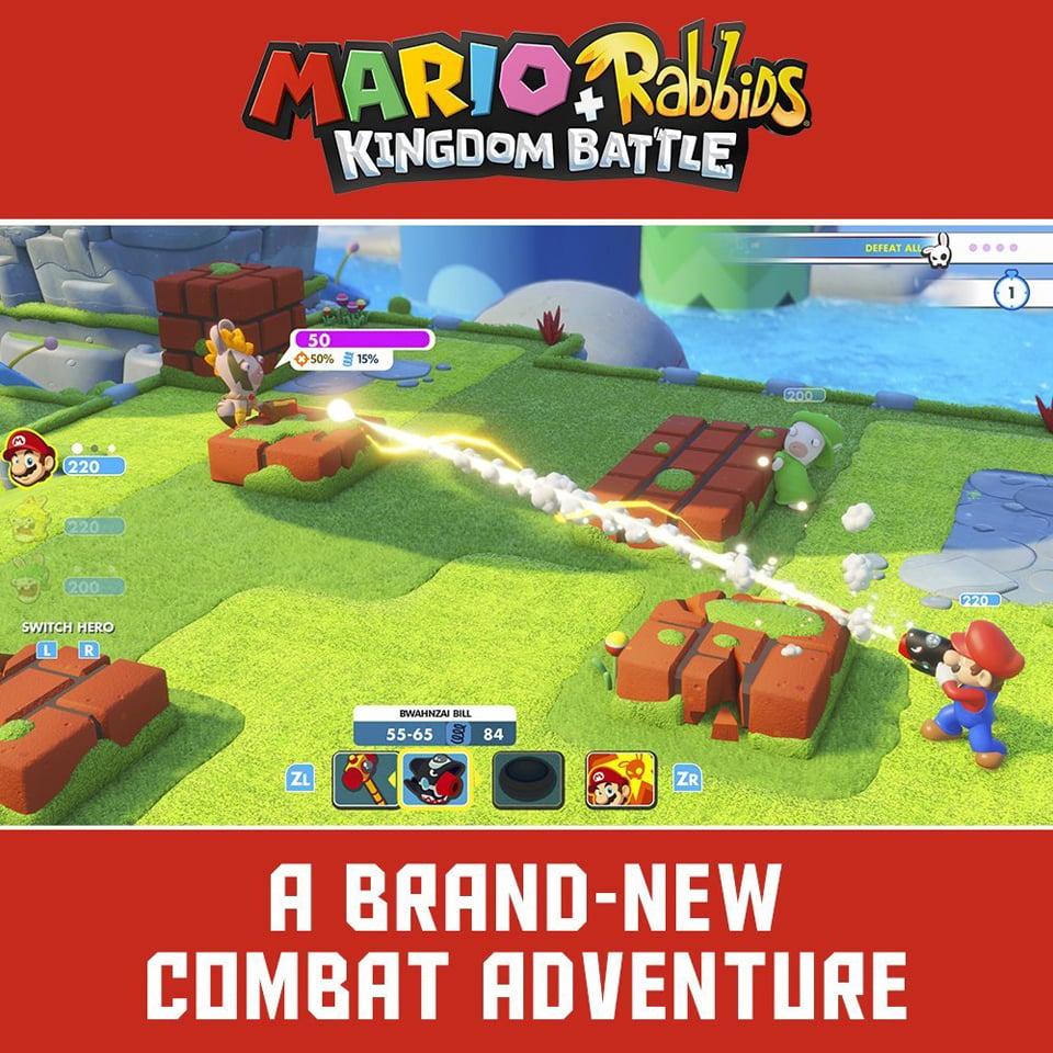 Mario + Rabbids Kingdom Battle