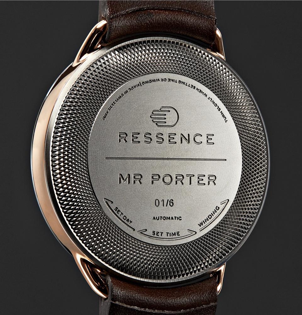 Mr Porter x Ressence Type 1