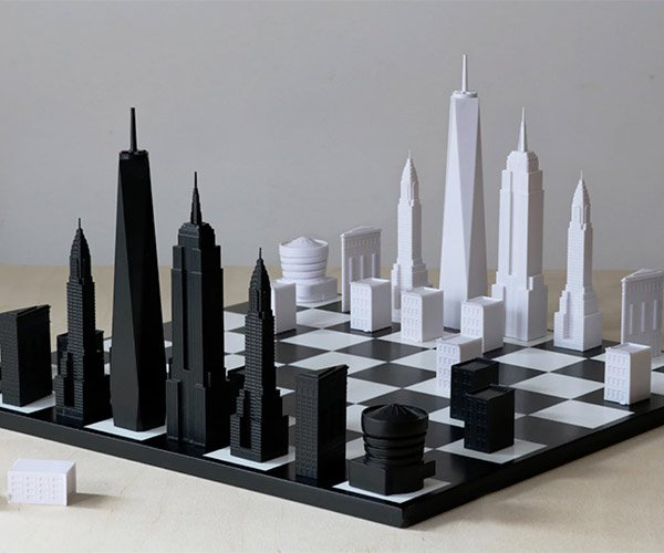 New York Skyline Chess