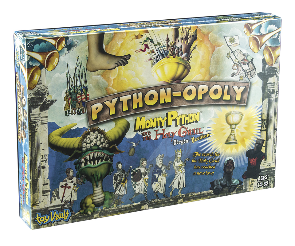 Python-Opoly: Holy Grail Edition