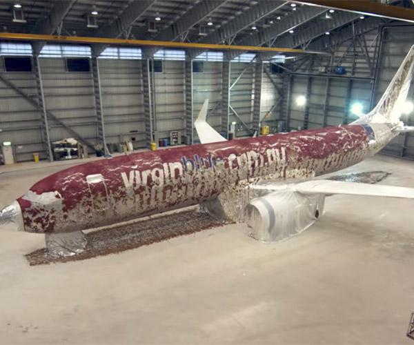 Repainting Jumbo Jets