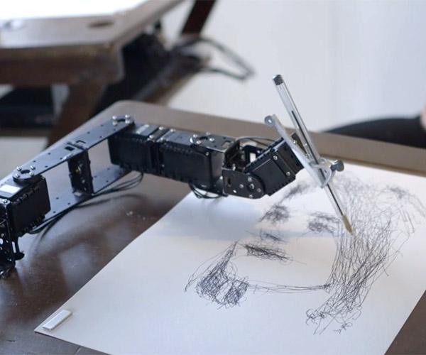 Robot Art Class