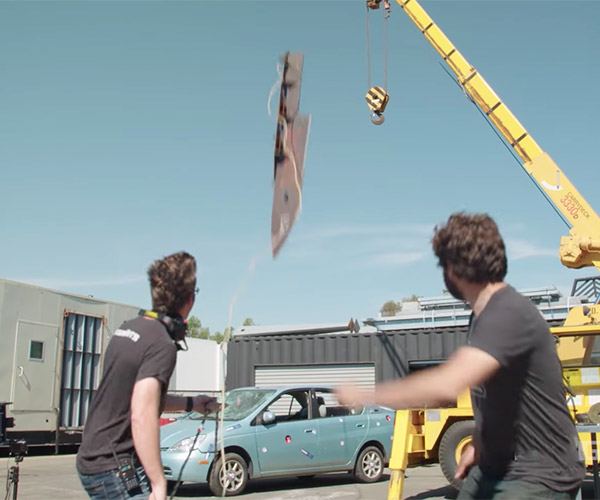 Stabbing a Car