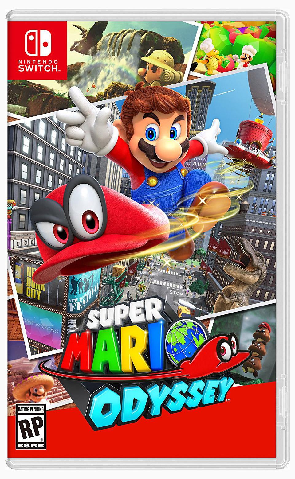 Super Mario Odyssey (Trailer)