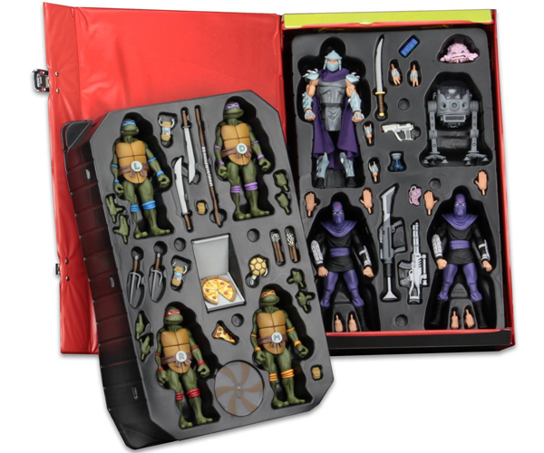 NECA TMNT Collector's Case