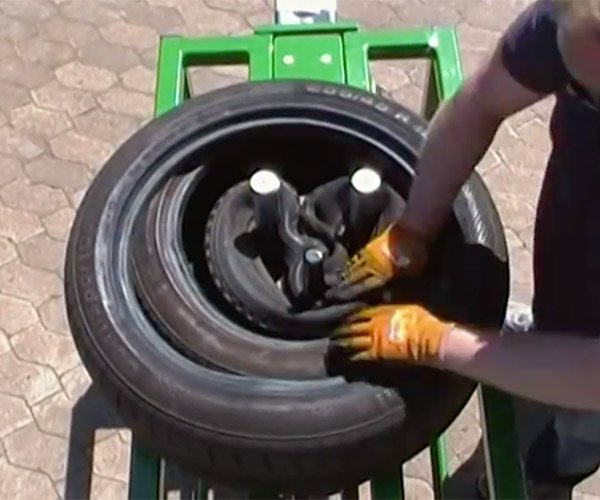Tire Tripler Machine