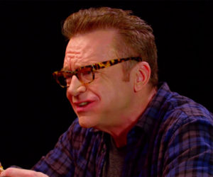 Tom Arnold vs. Hot Wings