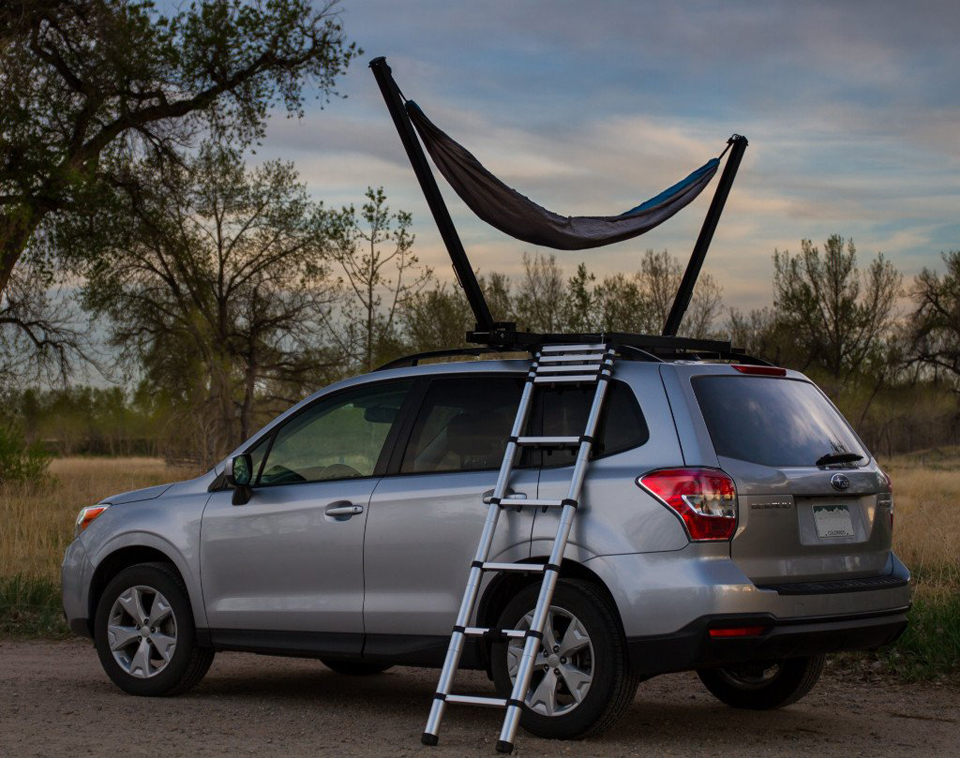TrailNest Rooftop Hammock Stands