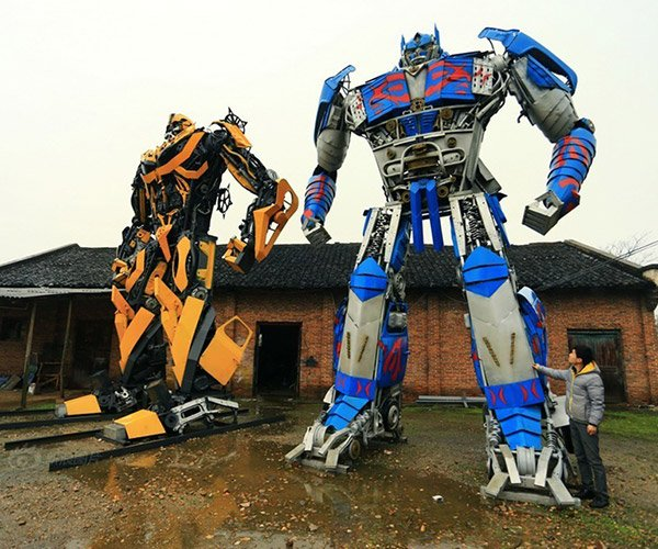Trash into Transformers