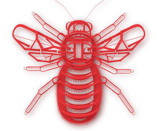 Typographic Insects