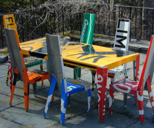 Street Sign Furniture