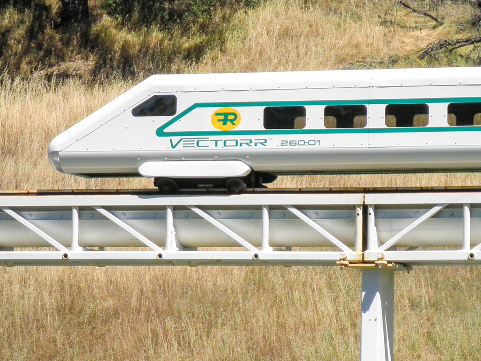 Vectorr High-Speed Rail Concept