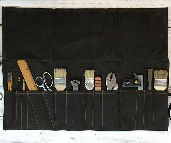 Wood & Spool Tool Rolls