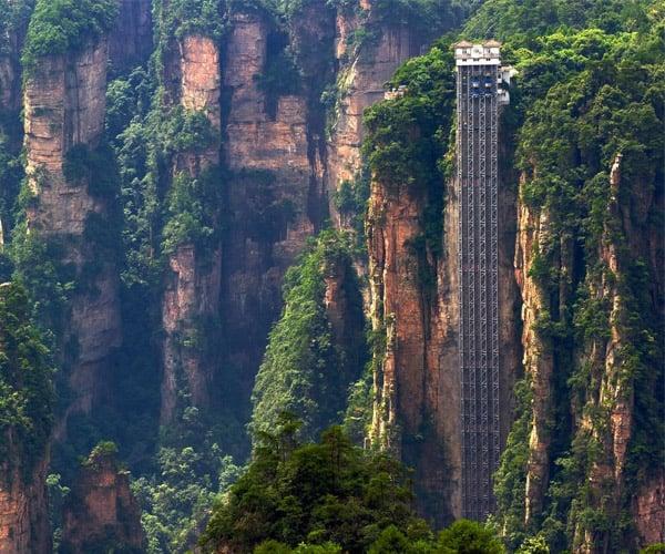 World's Tallest Outdoor Elevator