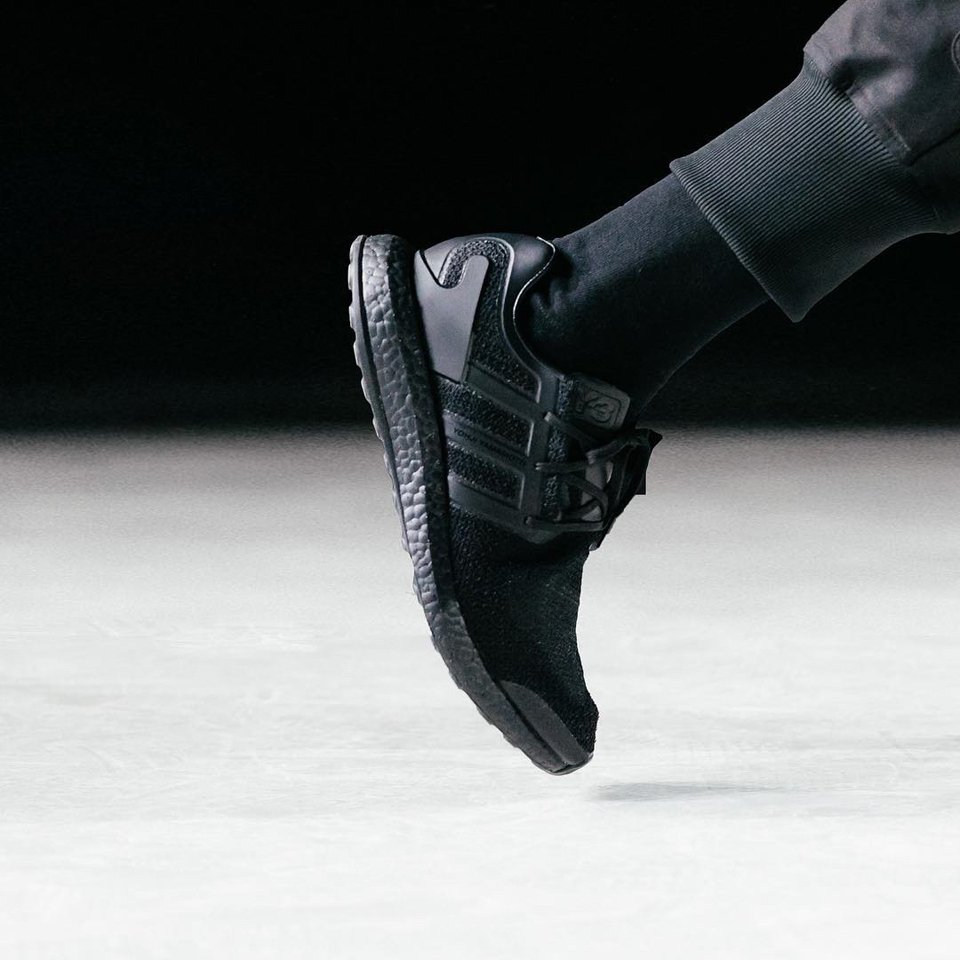 Y-3 All Black PureBoost
