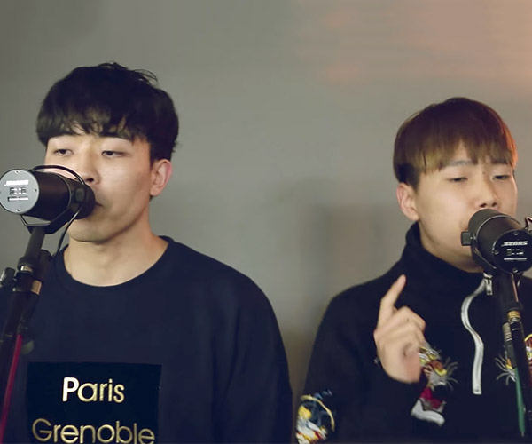 MNSTWNSS: Beatbox Duet