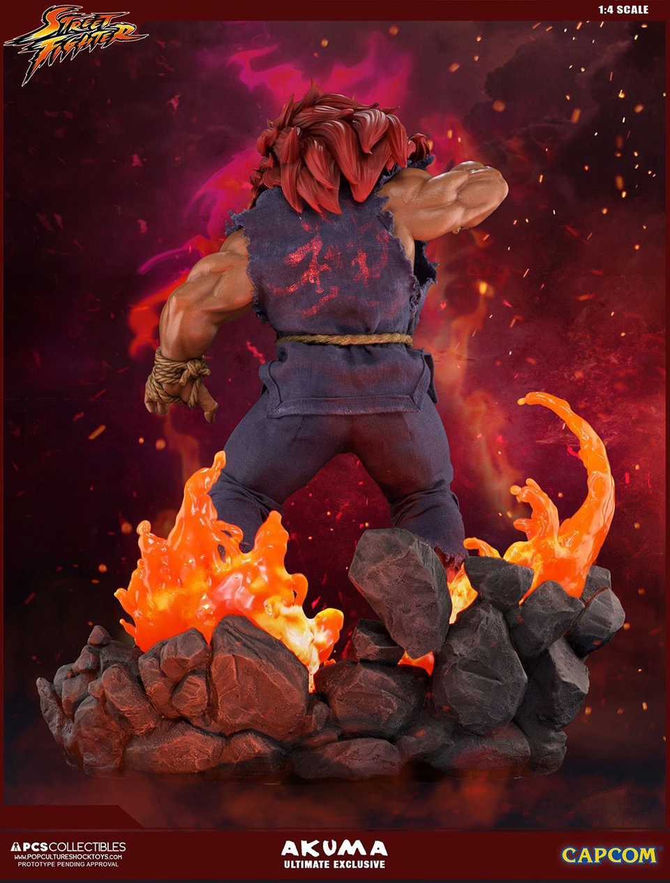 Akuma 1:4 Ultimate EX Statue