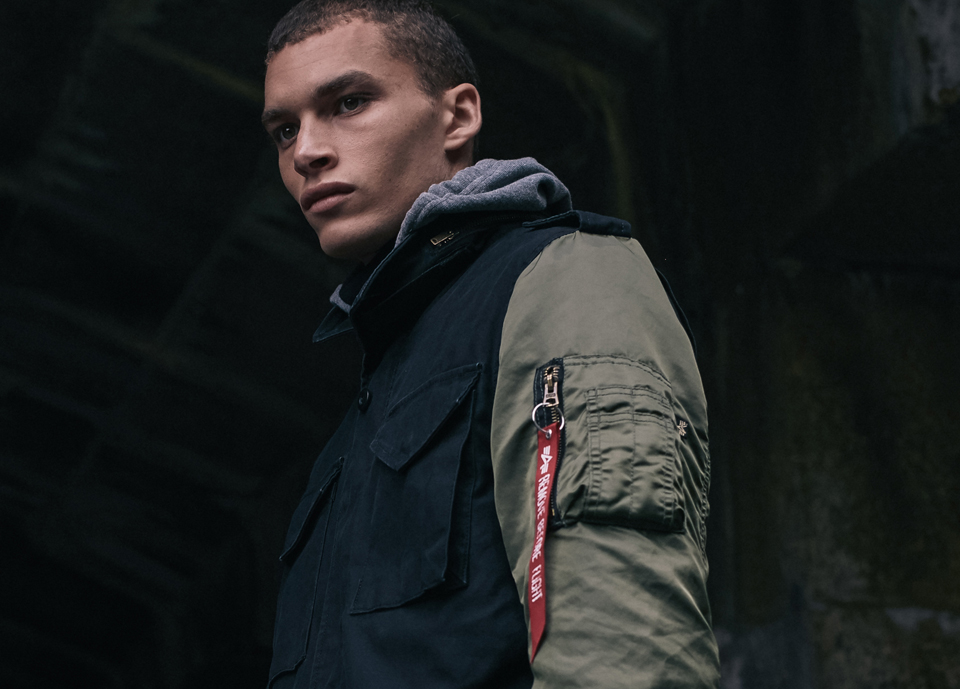 Alpha Industries 2017 Fall Winter Coats