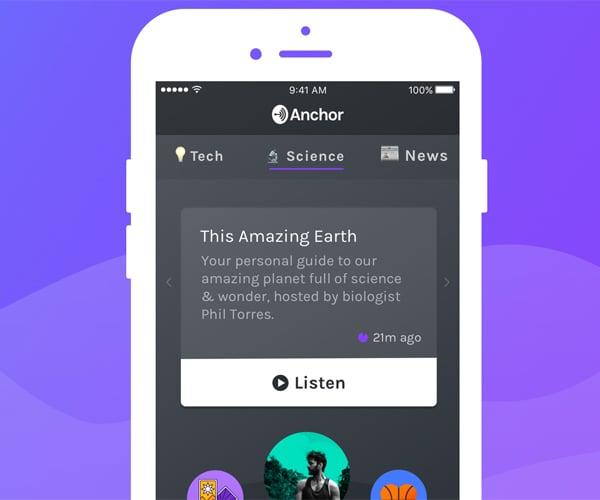 Anchor Podcast App