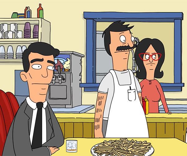 Archer Visits Bob's Burgers