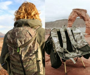 Chameleon Pack Backpack Chair