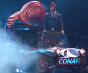 Conan's Superhero Vehicle