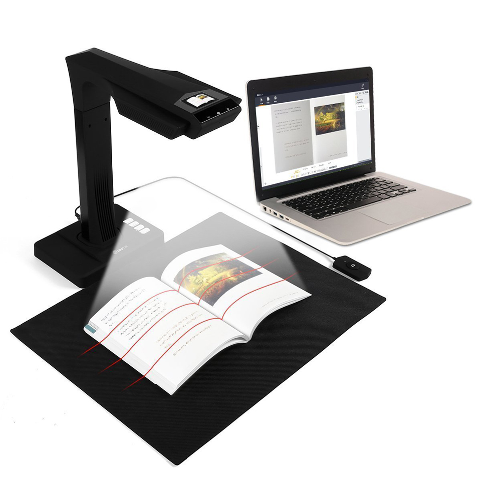 CZUR ET16 Book Scanner