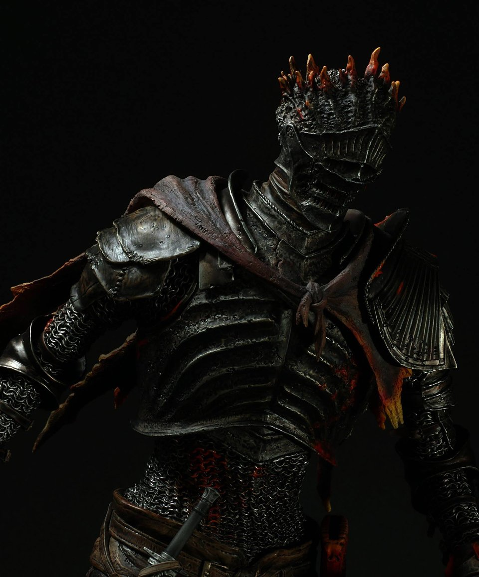 Gecco Soul of Cinder Statue