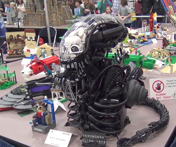 DIY LEGO Alien Xenomorph Bust