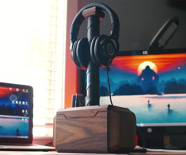 DIY Mjolnir Headphone & USB Dock