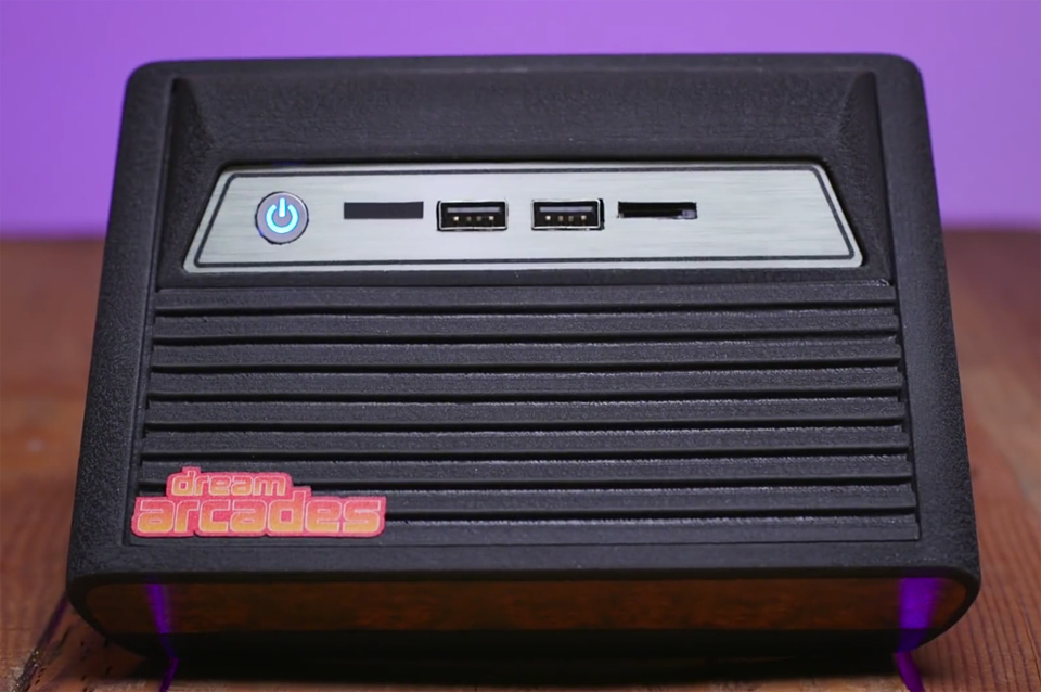 Dreamcade Replay Retro Console