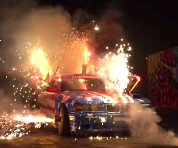Fireworks Car