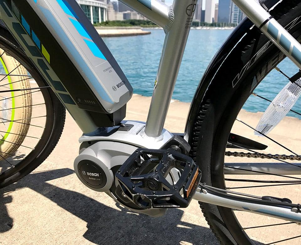 Fuji E-Traverse Classic + E-Bike