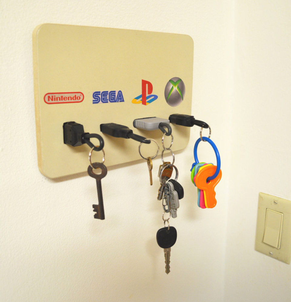 Gaming Key Holder The Awesomer