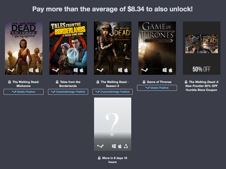Humble Telltale Games Bundle 2