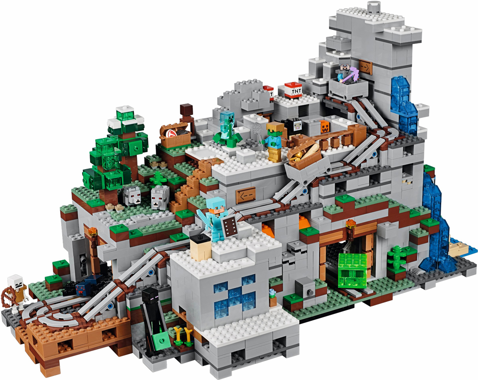 LEGO Minecraft: The Mountain Cave