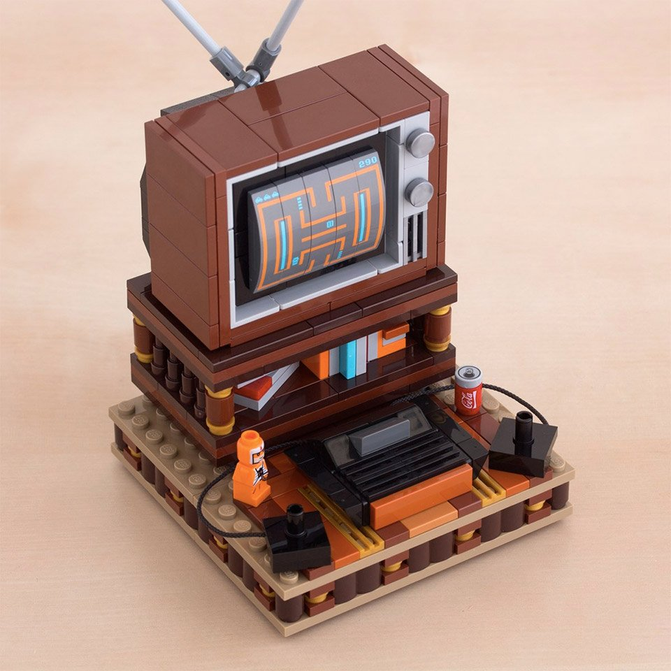 LEGO My Old Basement Kit